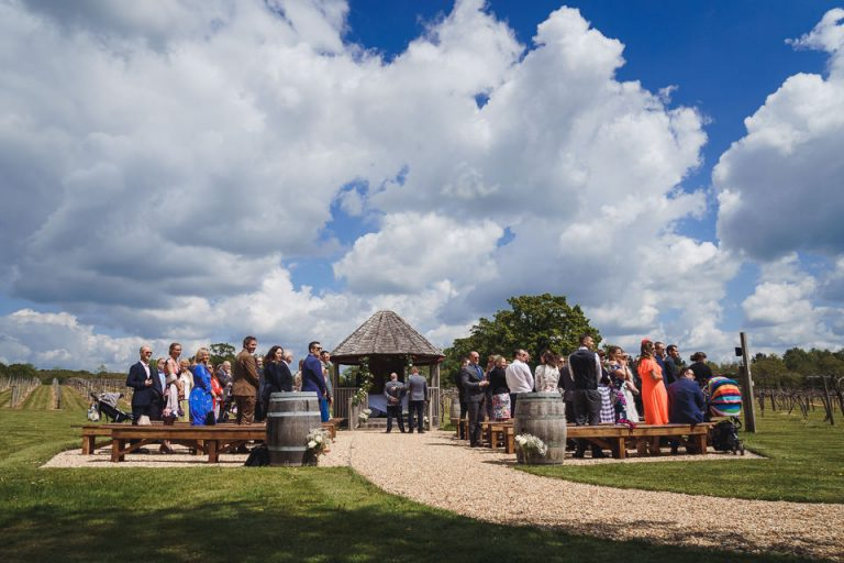 Three Choirs Vineyard Hampshire Wedding
